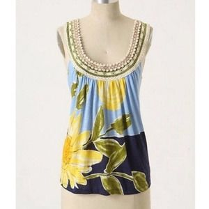 We Heart Love Vera Sunflower Fragrant Fields Top